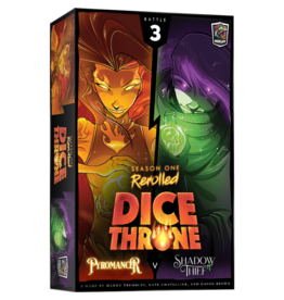Roxley Games Dice Throne Season 1: Pyromancer vs. Shadow Thief