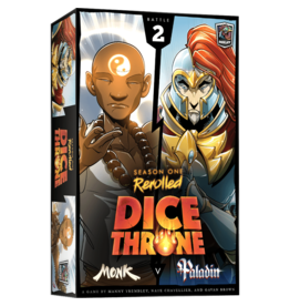 Roxley Games Dice Throne Season 1: Monk vs. Paladin