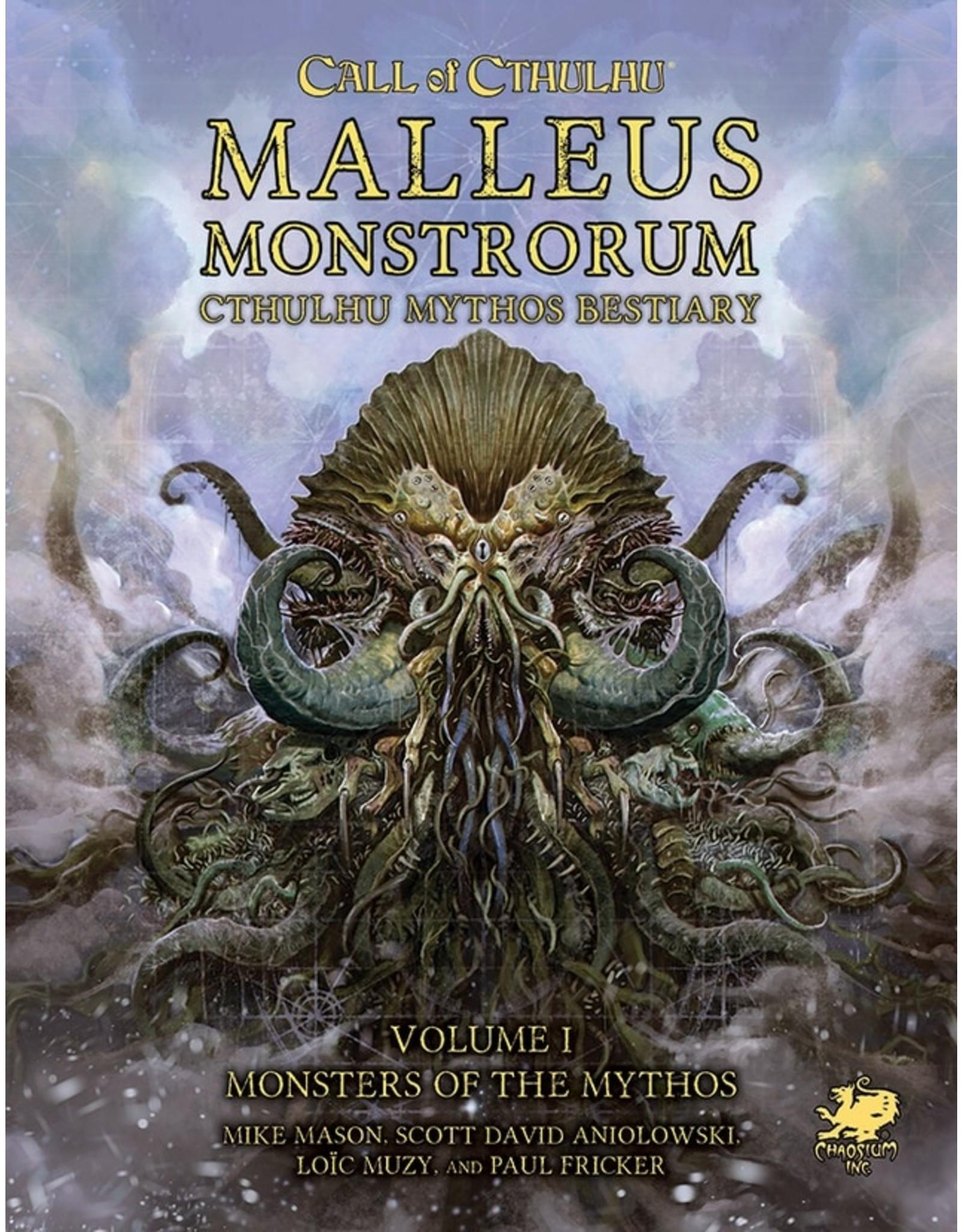 Chaosium Call of Cthulhu 7E: Malleus Monstrorum Cthulhu Mythos Bestiary Set
