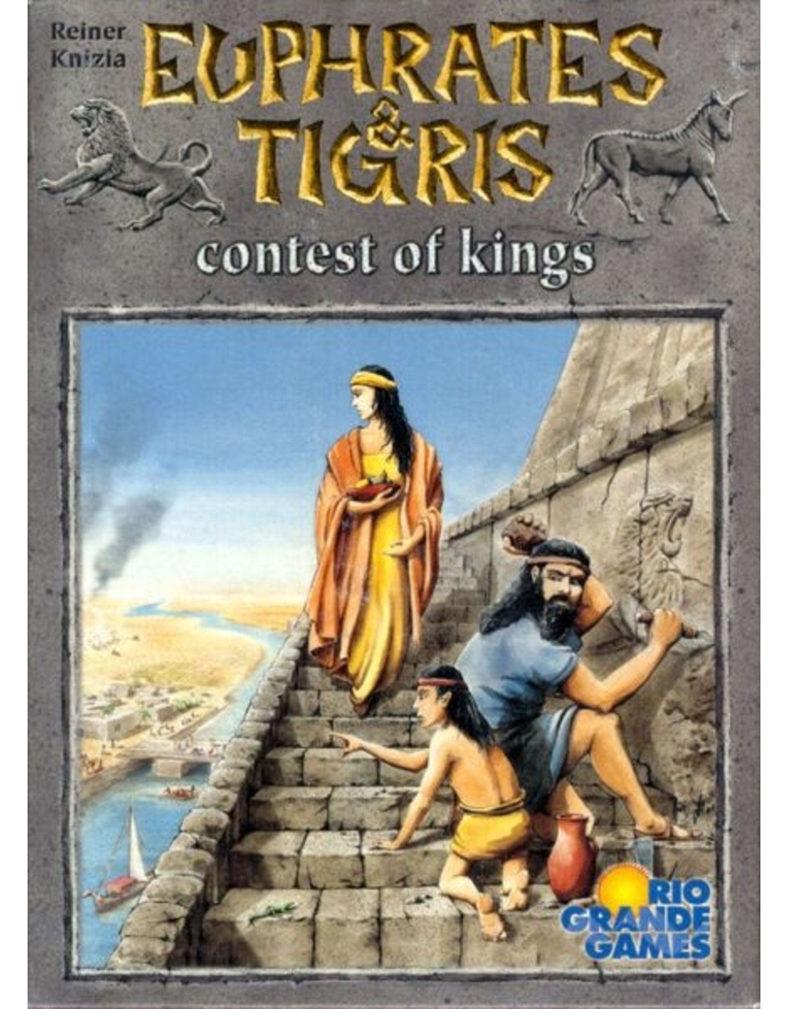 Rio Grande Games Euphrates & Tigris: Contest of Kings