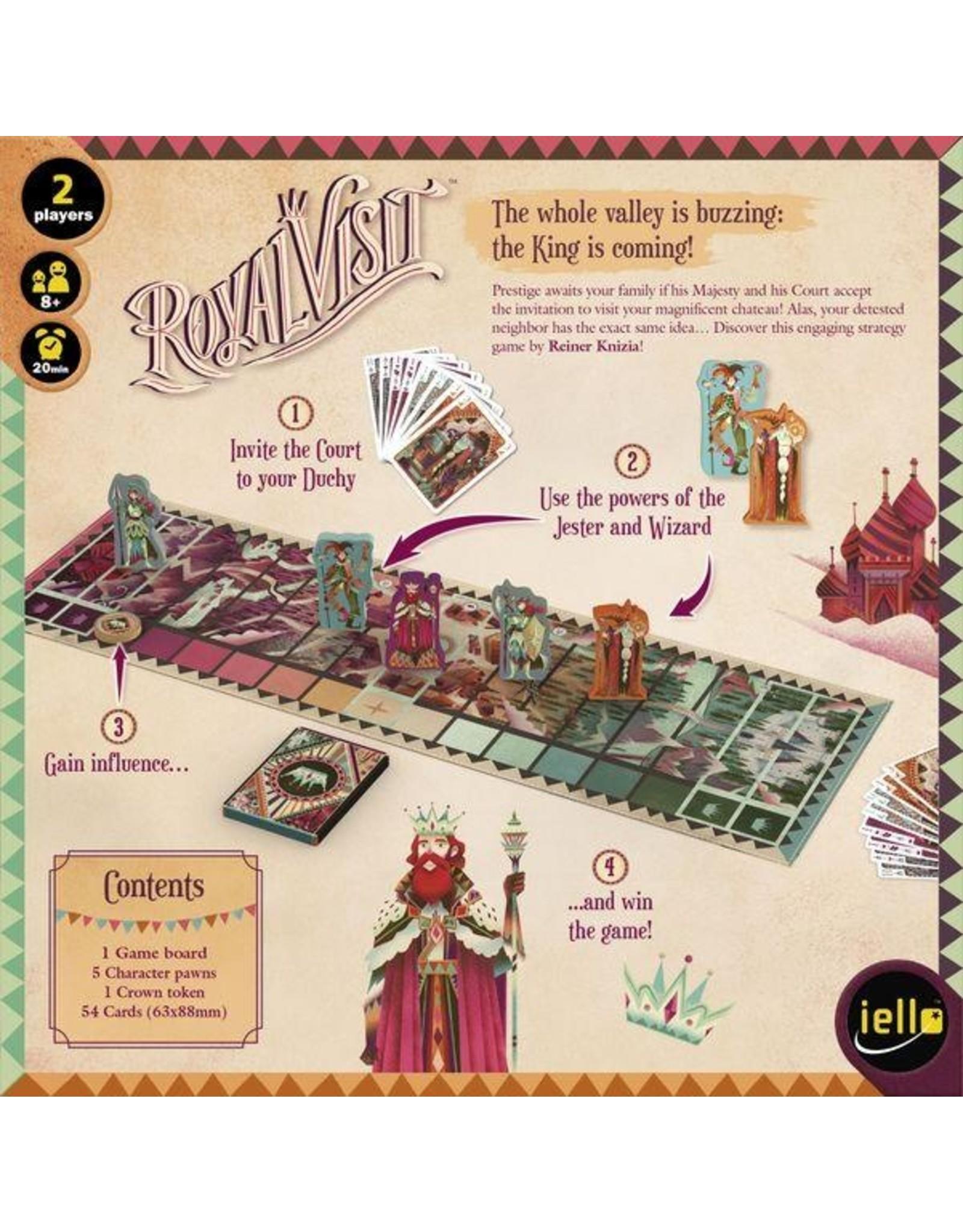 Iello Royal Visit