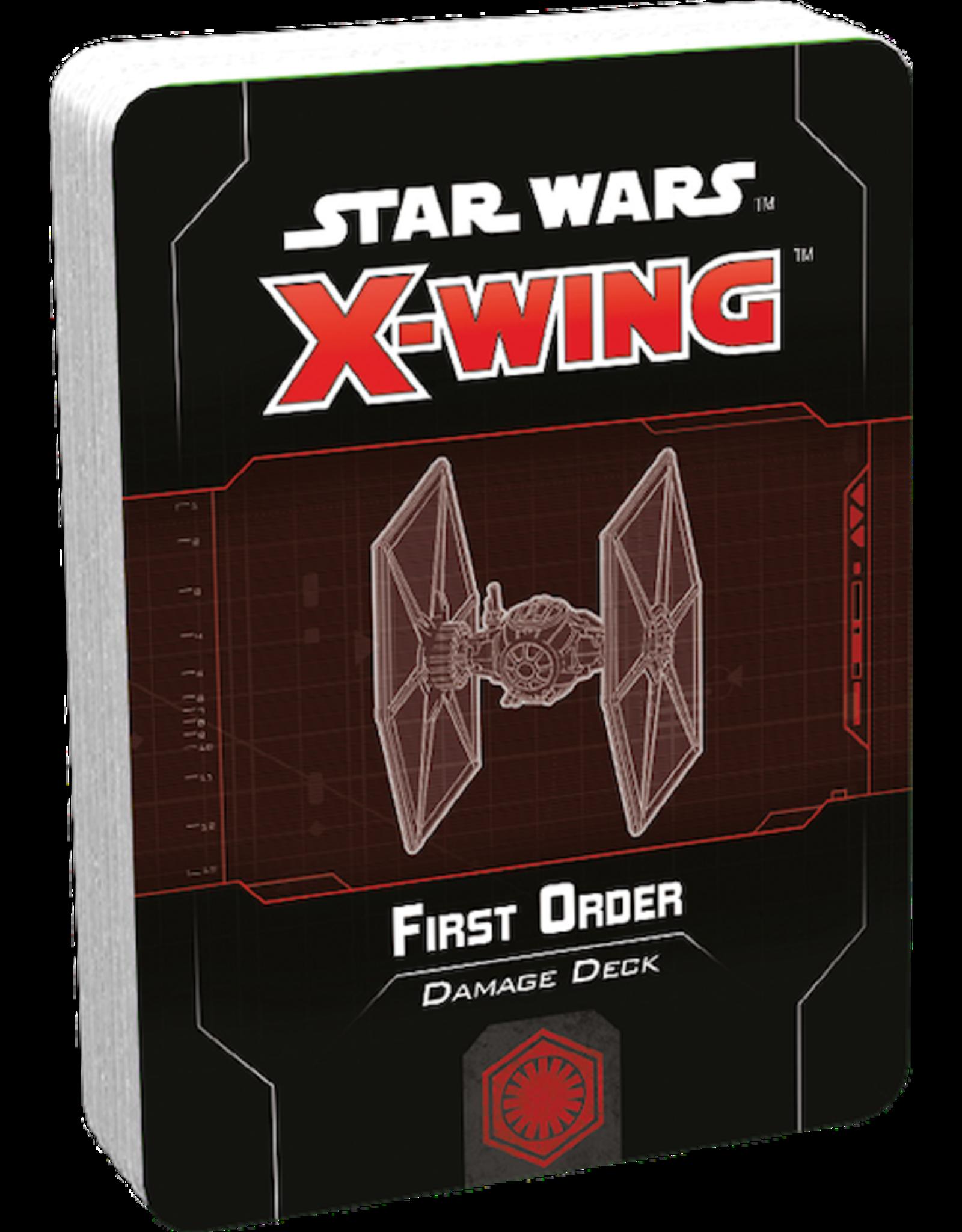 Fantasy Flight Games Star Wars X-Wing:  First Order Damage Deck 2nd ed