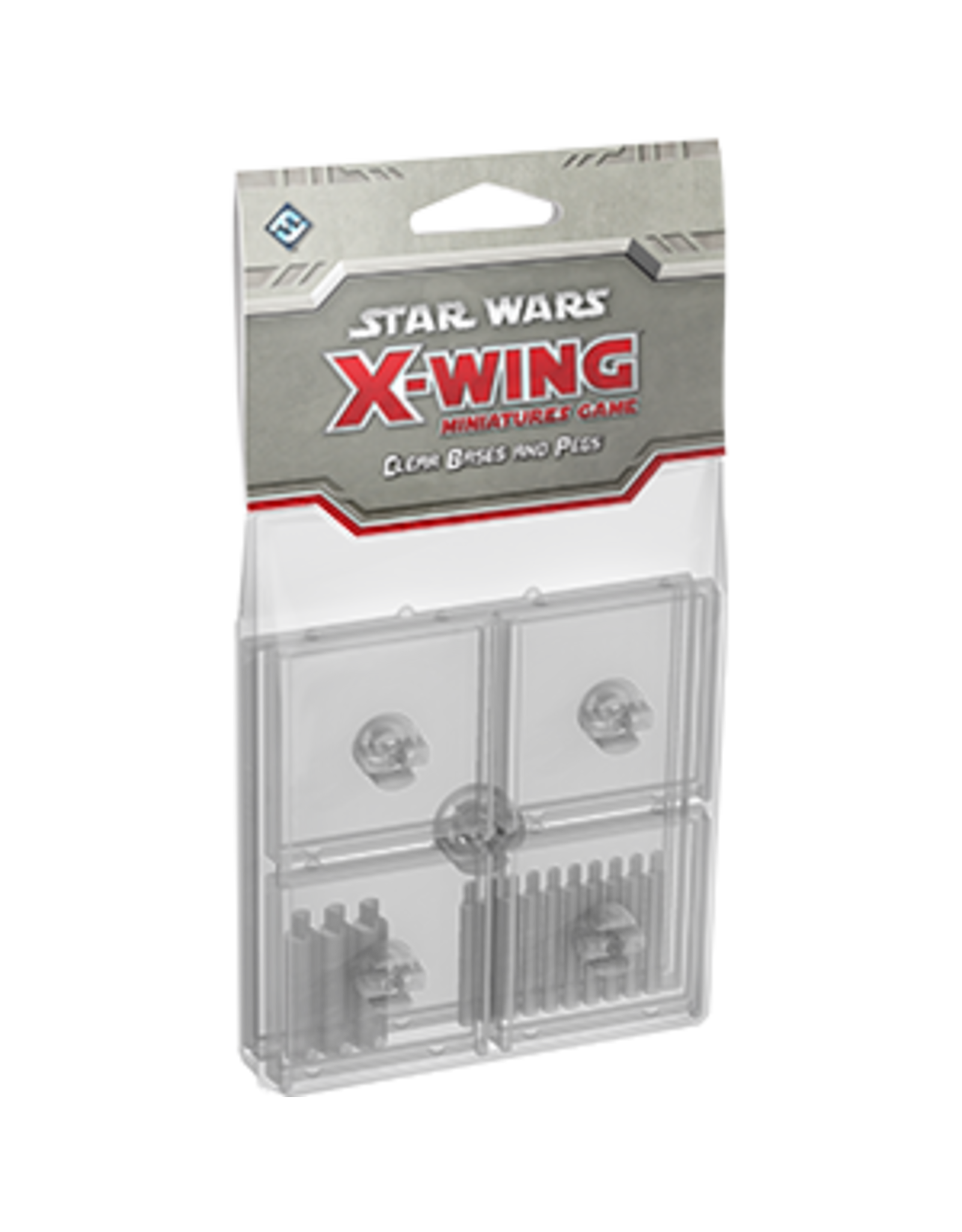 Fantasy Flight Games Star Wars X-Wing: Clear Bases and Pegs