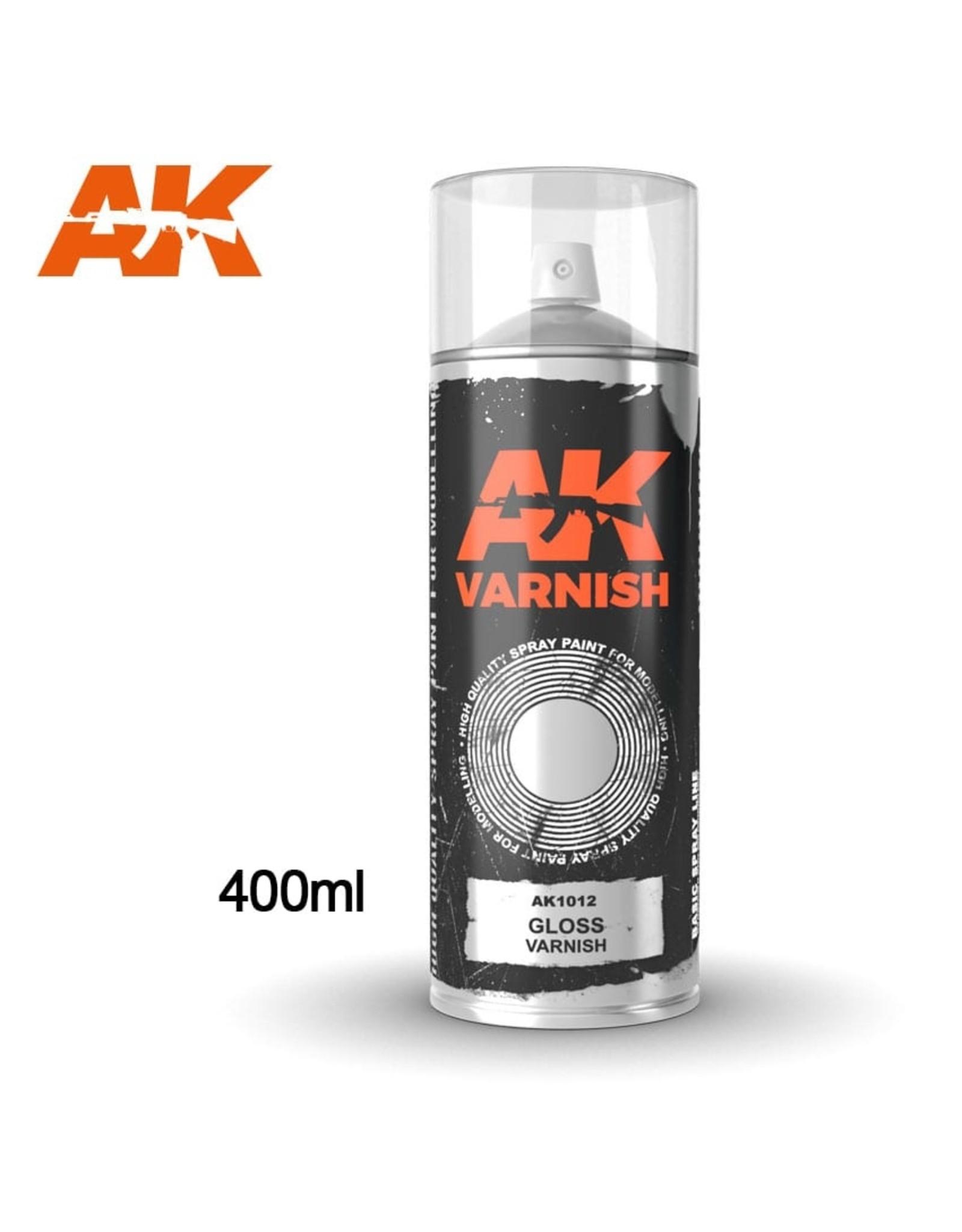 AK-Interactive AK Interactive Gloss Varnish Spray