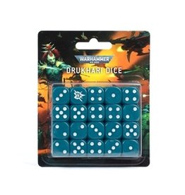 Games Workshop Drukhari Dice Set