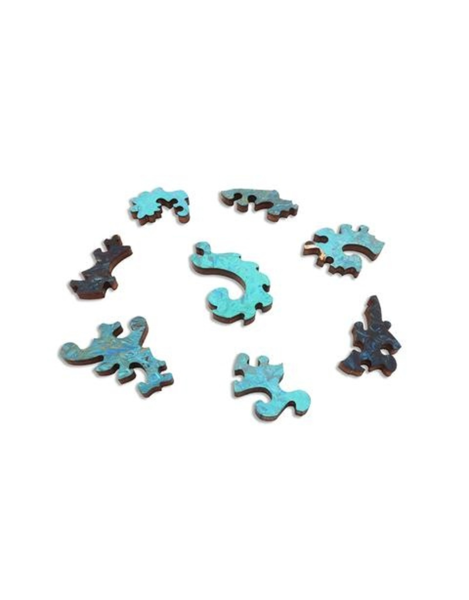"""Artifact Puzzles """"The Discussion"""" Wooden Jigsaw Puzzle"""