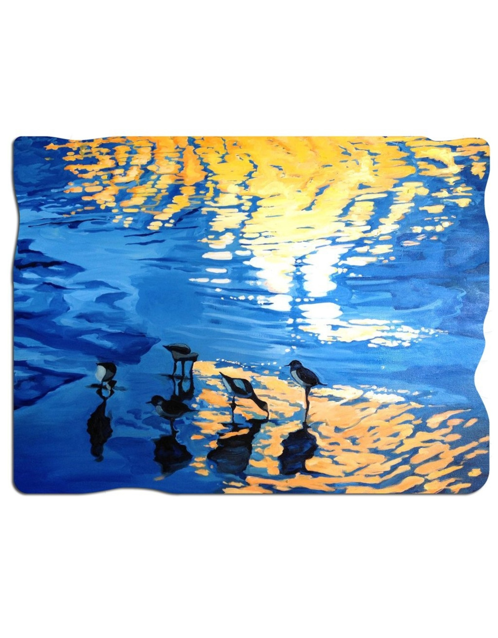 """Artifact Puzzles """"Sandpipers"""" Wooden Jigsaw Puzzle"""