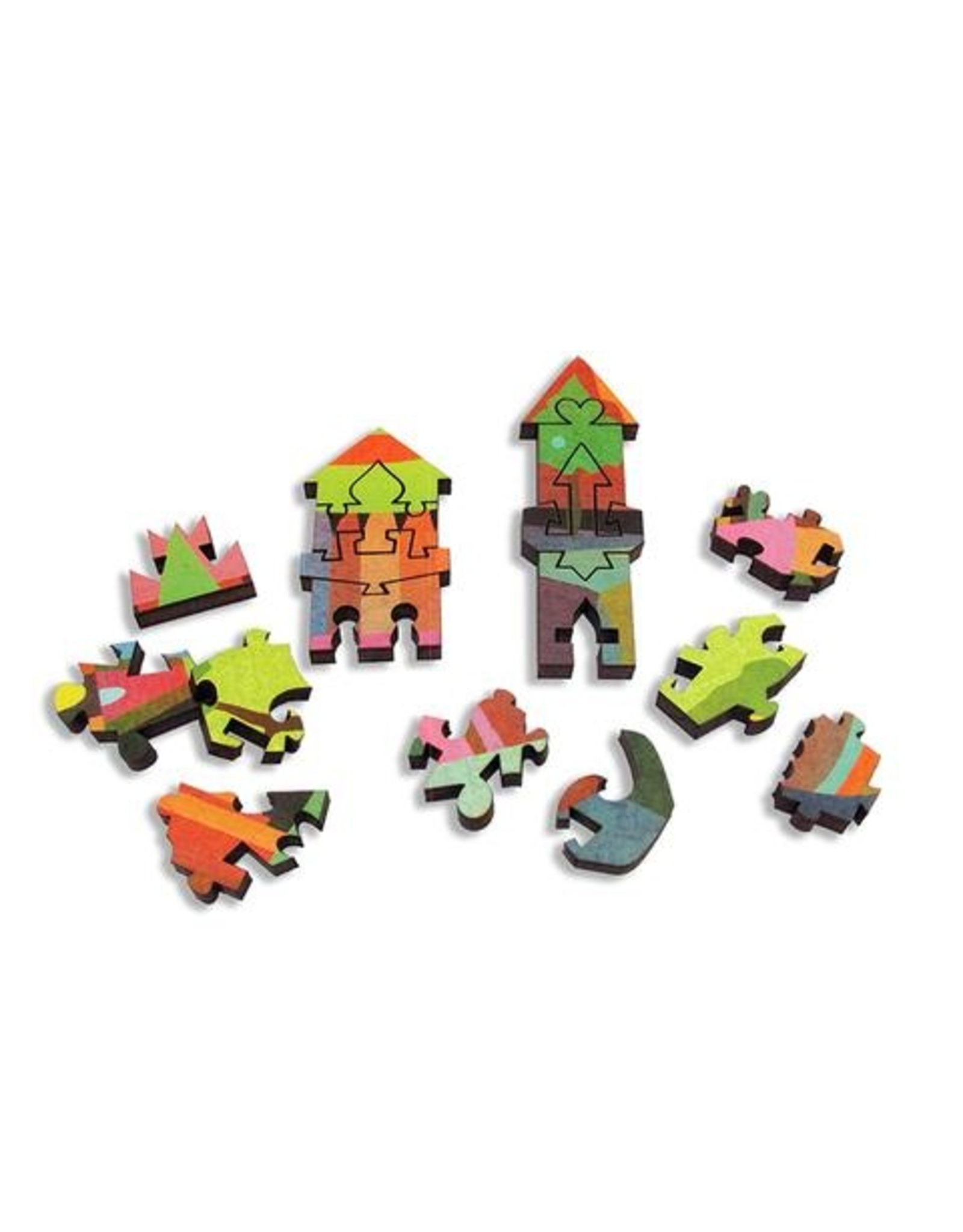 """Artifact Puzzles """"Monastery"""" Wooden Jigsaw Puzzle"""