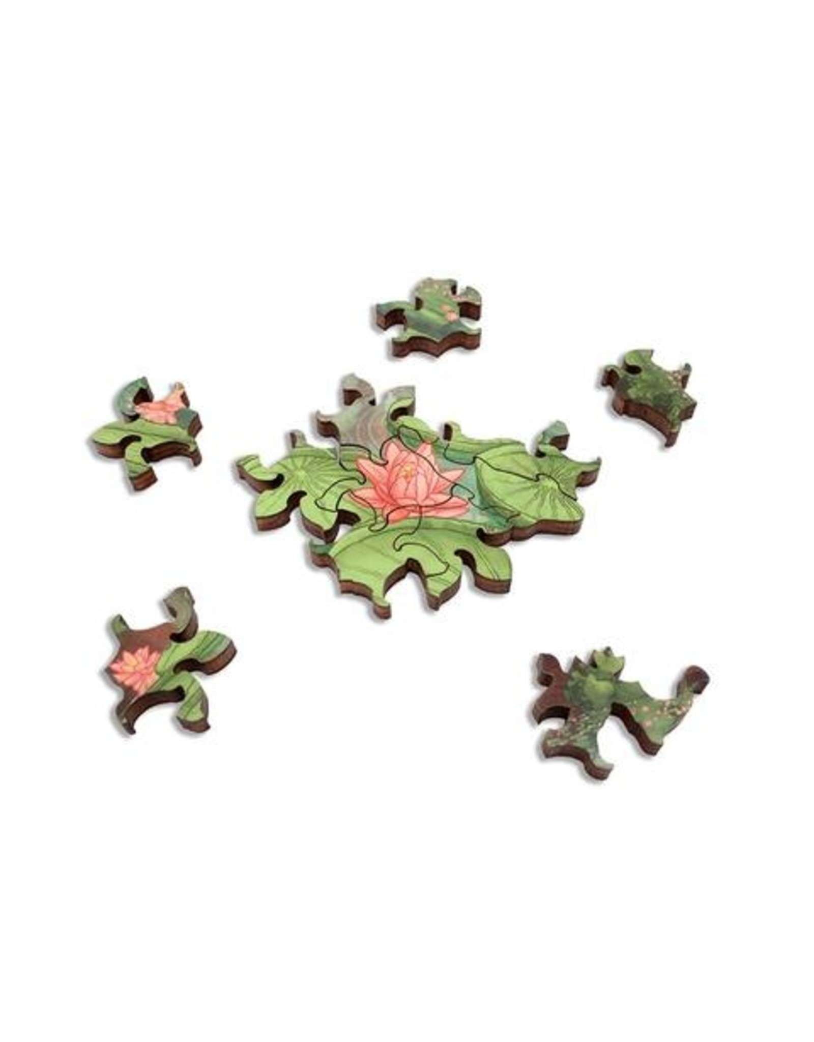"""Artifact Puzzles """"Cathedral of the Changing Tides"""" Wooden Jigsaw Puzzle"""