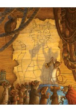 """Artifact Puzzles """"Belling the Cat"""" Wooden Jigsaw Puzzle"""