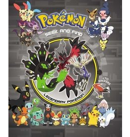 The Pokemon Company Pokemon Legendary Seek & Find