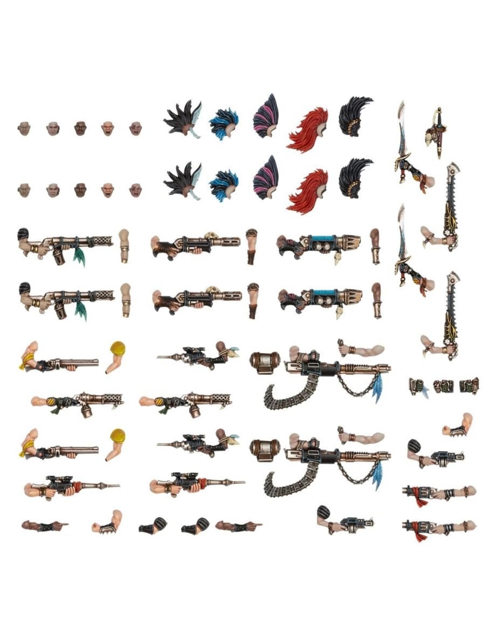Games Workshop Necromunda: Escher Weapons & Upgrades