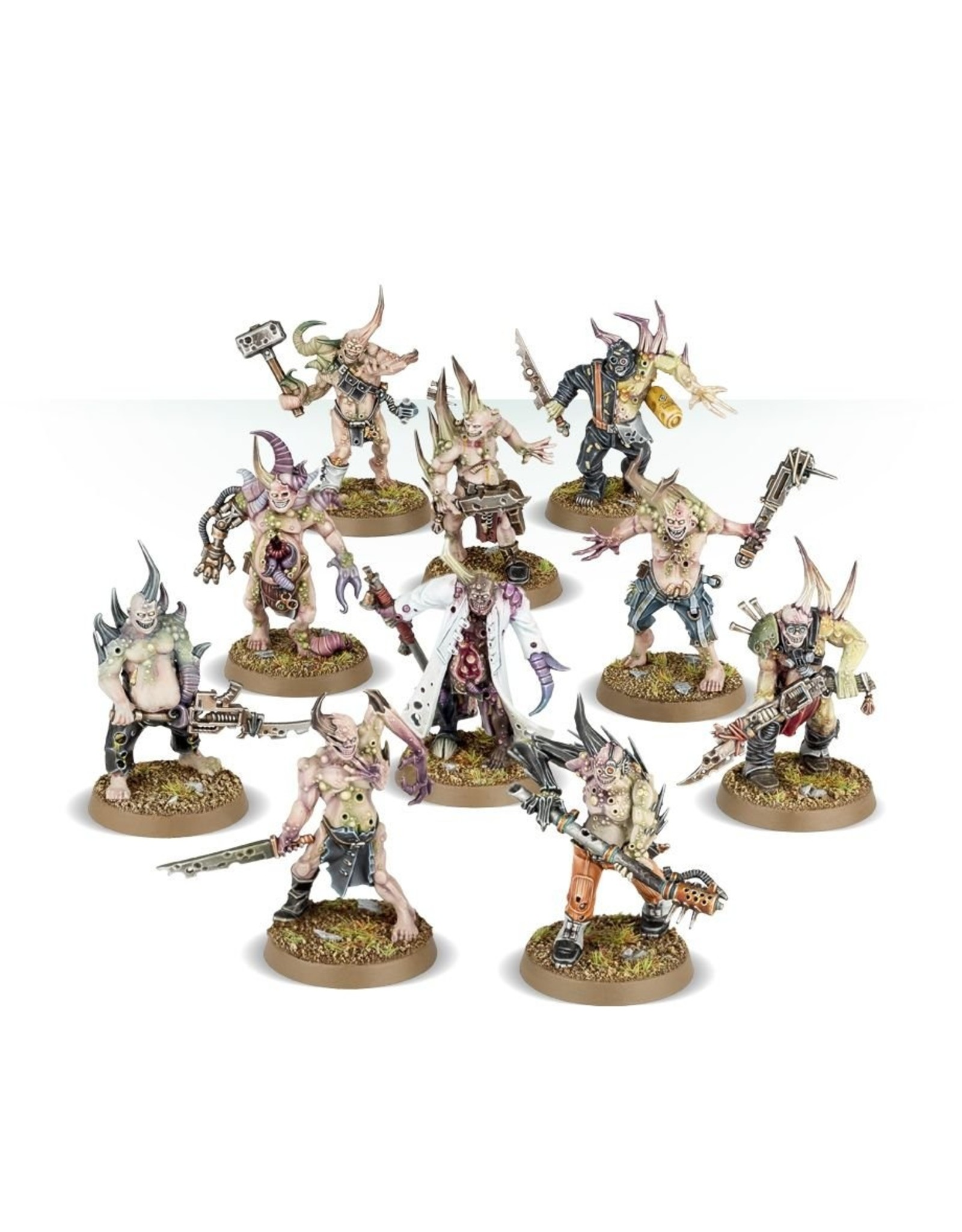 Games Workshop Death Guard -  Pox Walkers