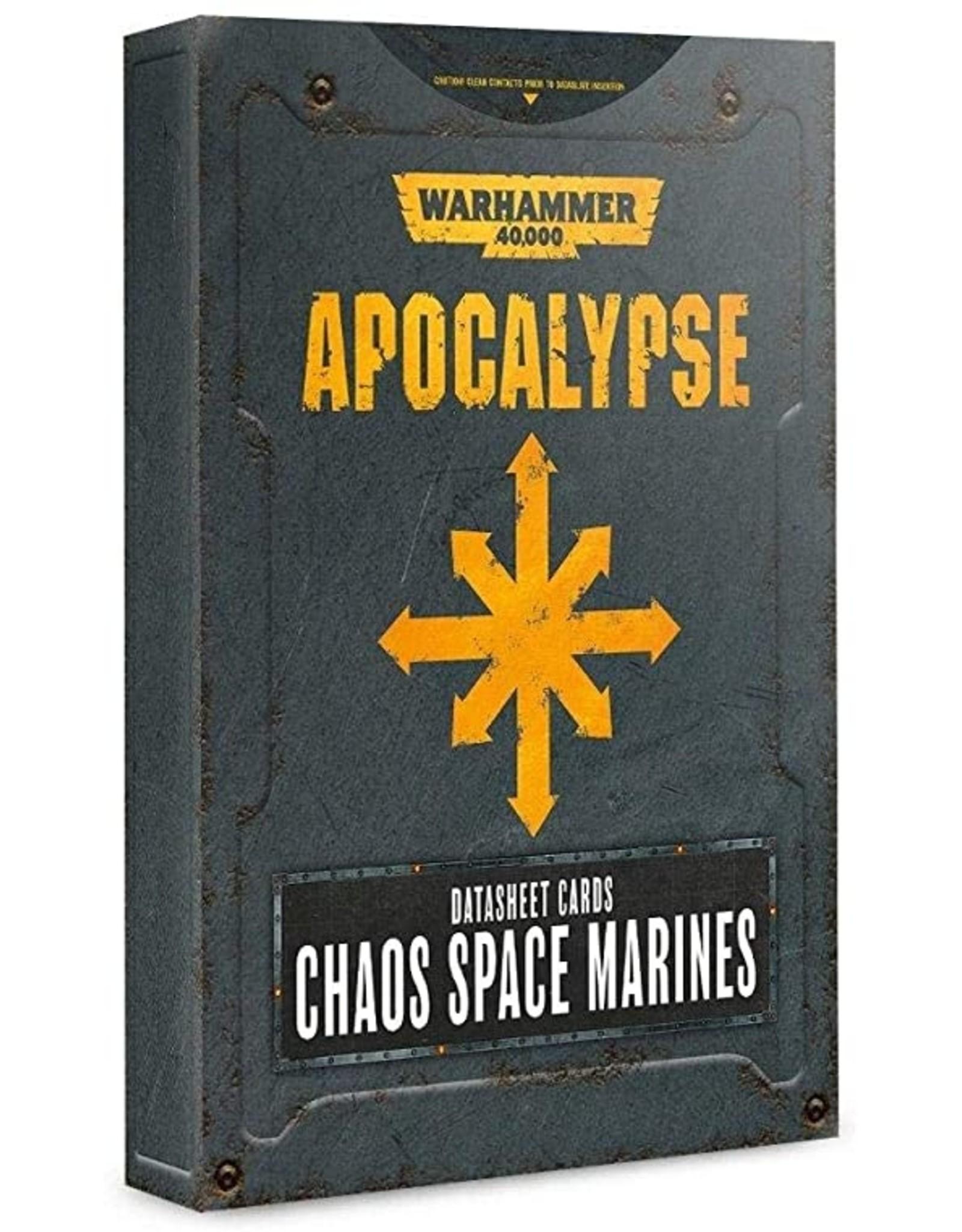 Games Workshop Apocalypse: Aeldari DataSheets