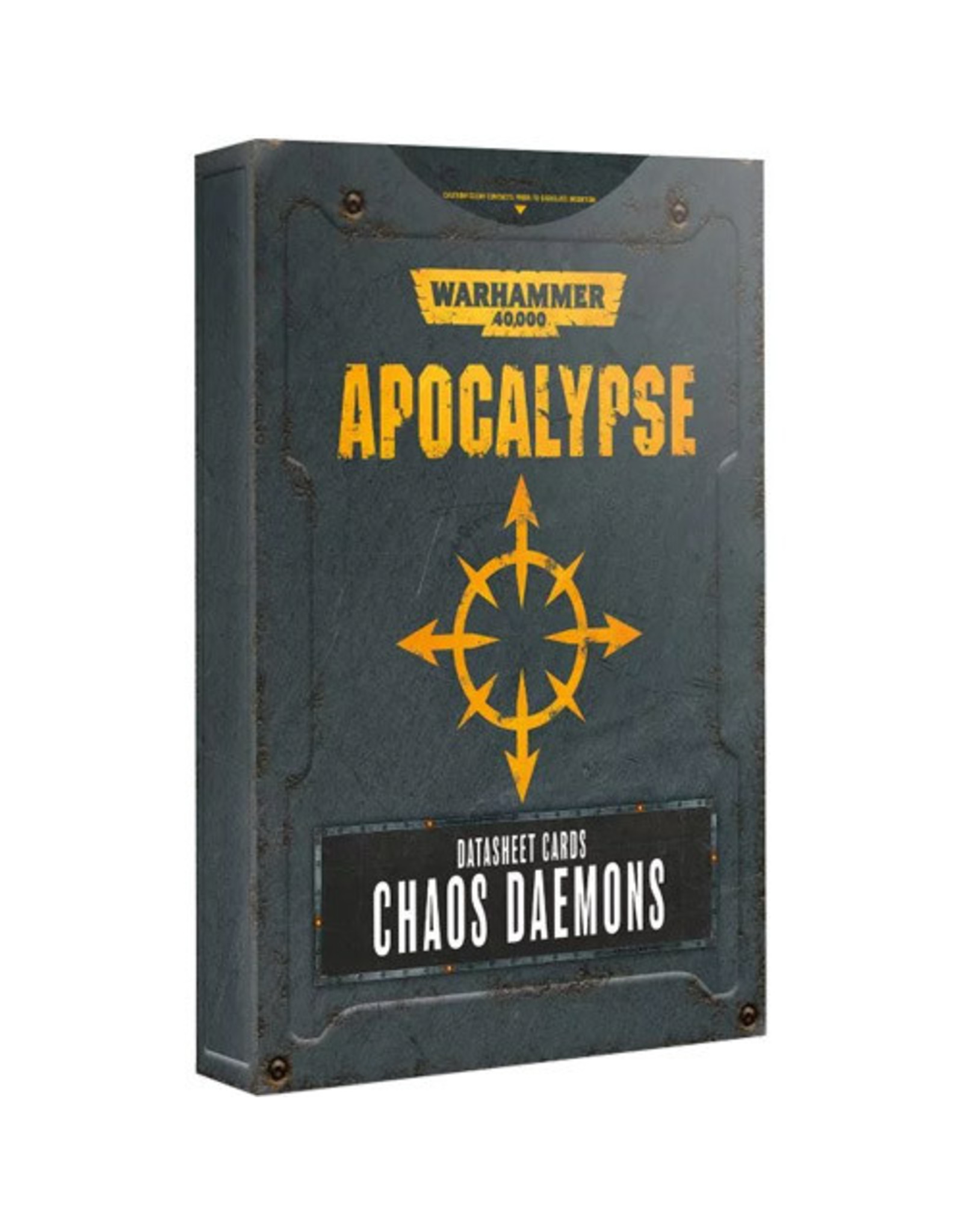 Games Workshop Apocalypse: Chaos Daemon DataSheets