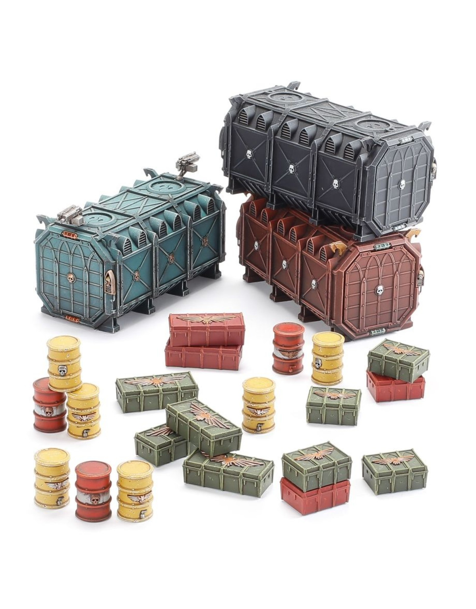 Games Workshop Armored Containers