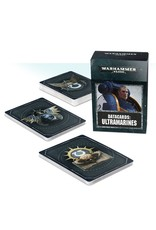 Games Workshop Ultramarines: 8th Ed Datacards