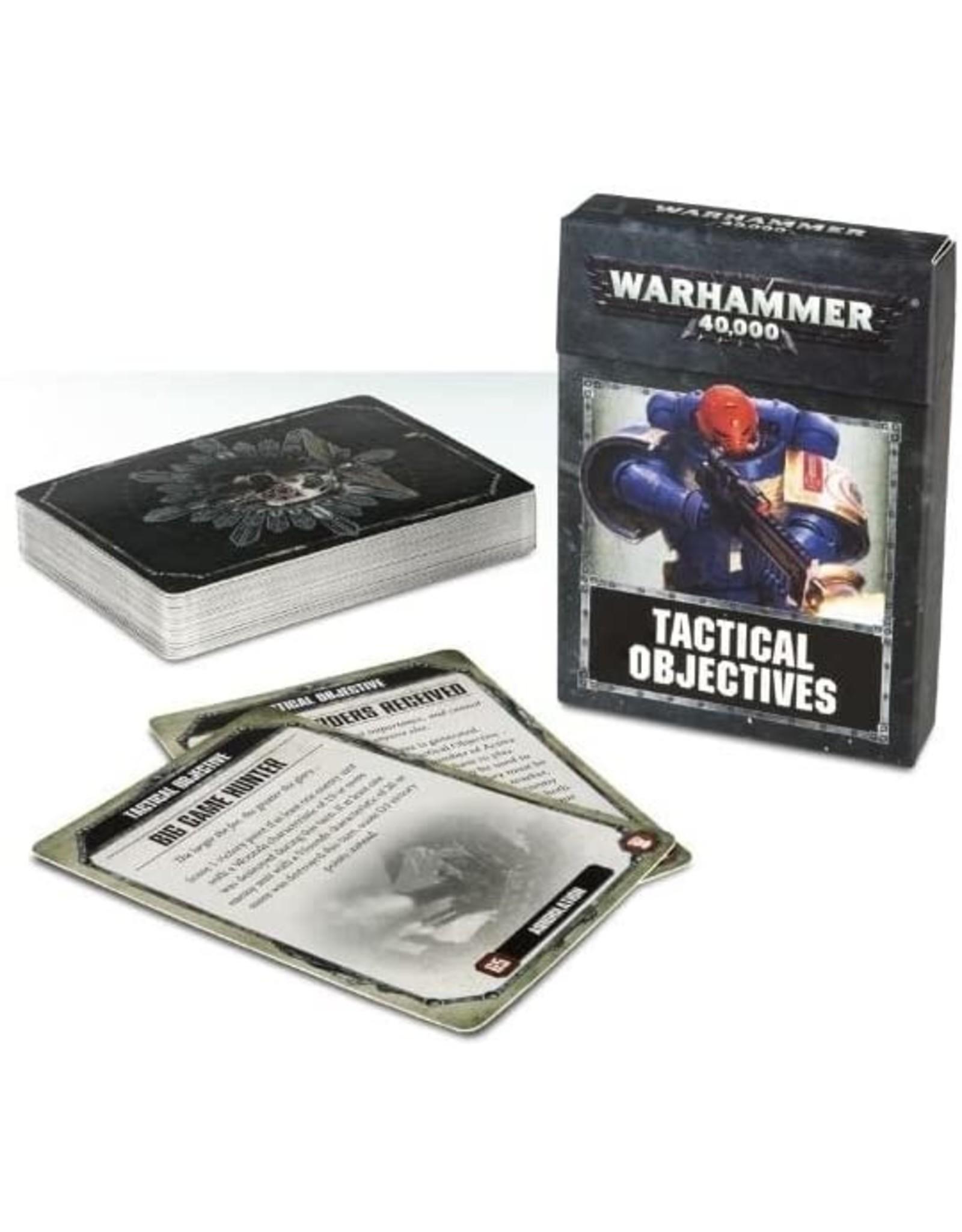 Games Workshop Warhammer 40k Tactical Objectives