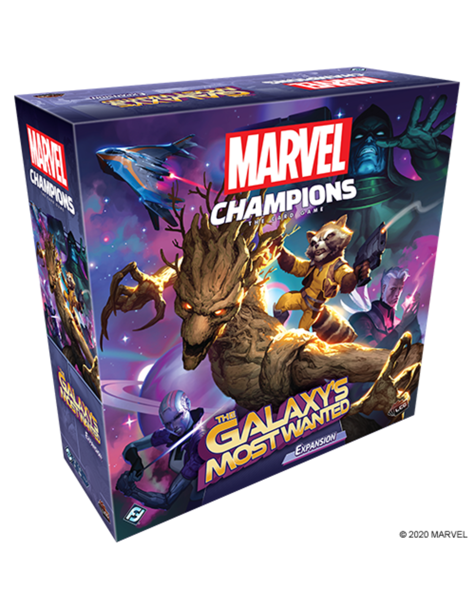 Fantasy Flight Games Marvel Champions LCG: The Galaxy's Most Wanted Expansion