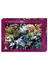 "Heye ""Tim Burton Films"" 1000 Piece Puzzle"