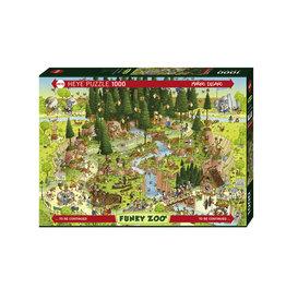 "Heye ""Black Forest Habitat"" 1000 Piece Puzzle"