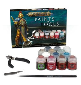 Games Workshop AoS Paints+Tools Set