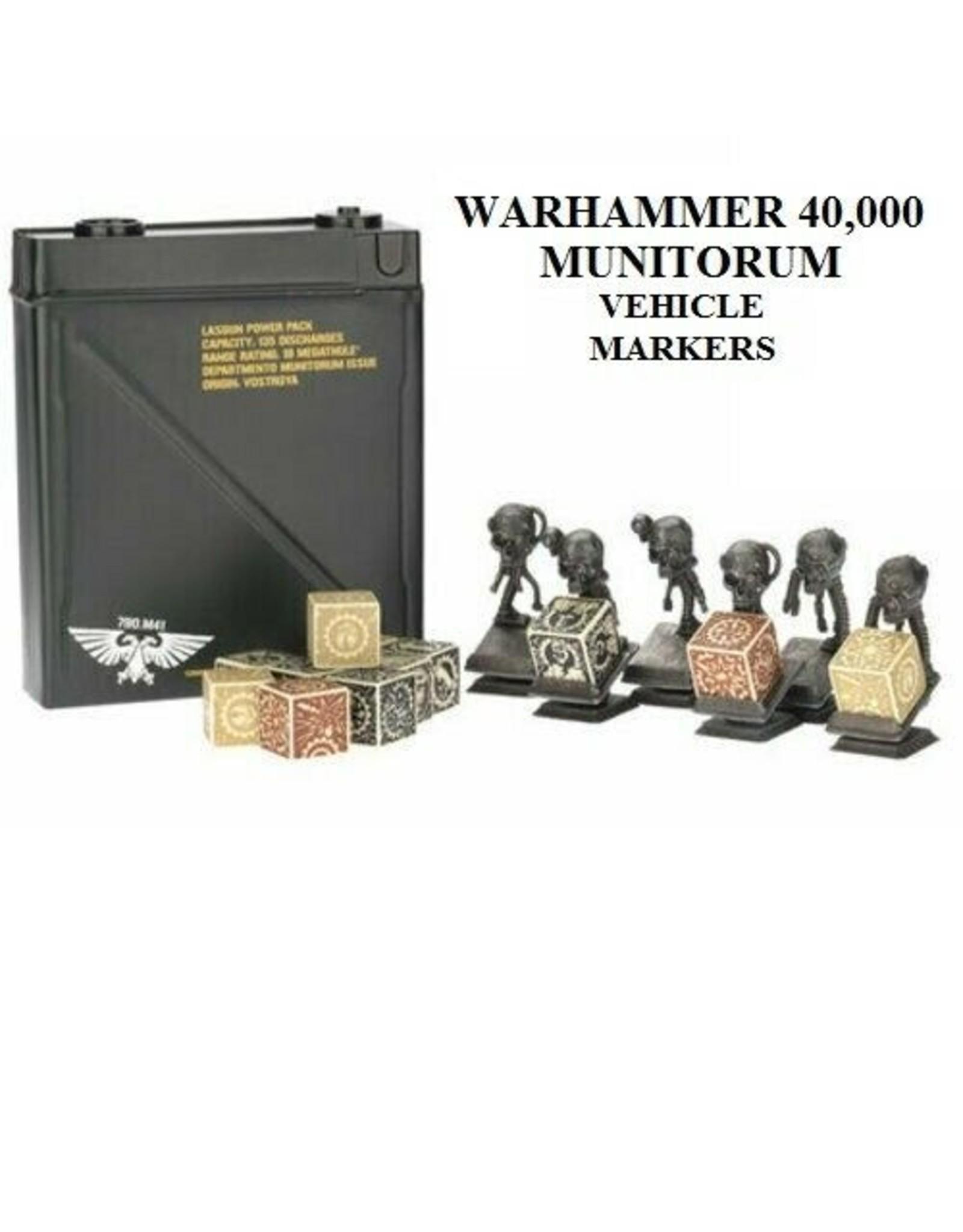 Games Workshop Munitorium Vehicle Markers