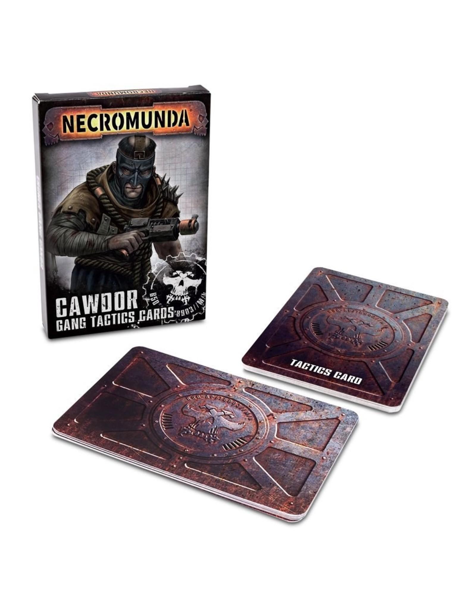 Games Workshop Necromunda: Cawdor House Tactics Cards