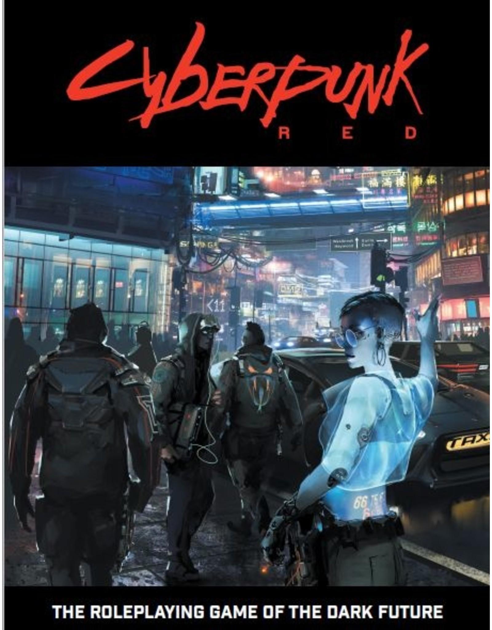 R. Talsorian Games Cyberpunk Red: Core Book