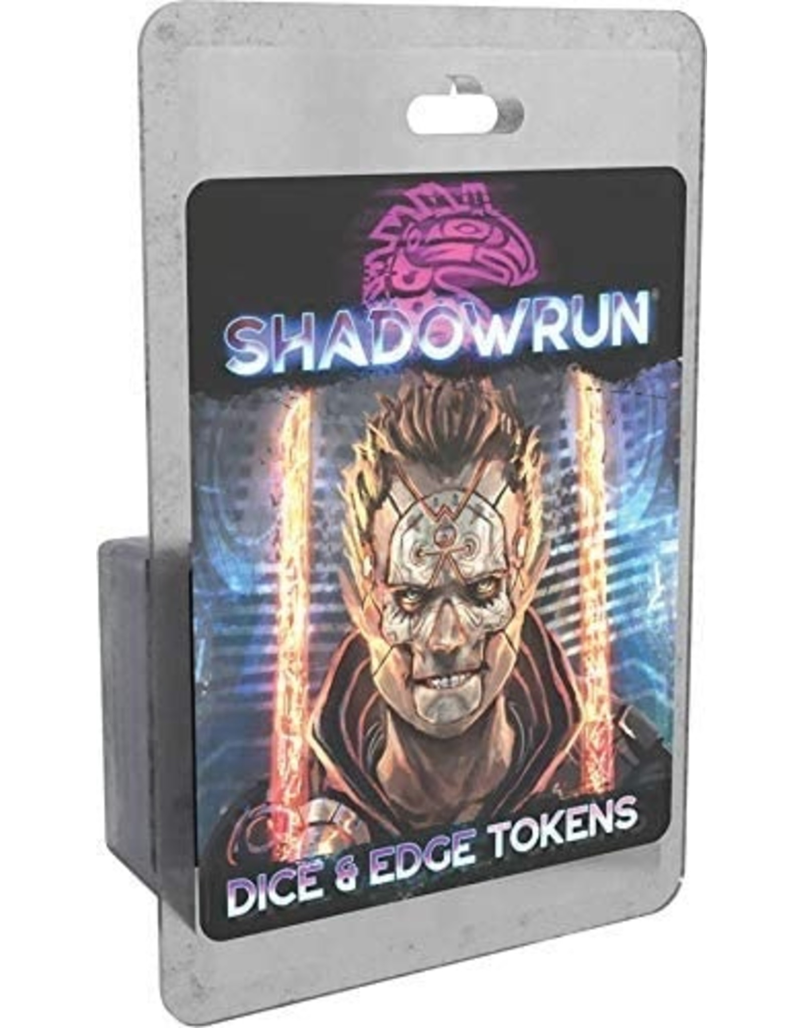 Catalyst Game Labs Shadowrun 6E: Dice & Edge Tokens