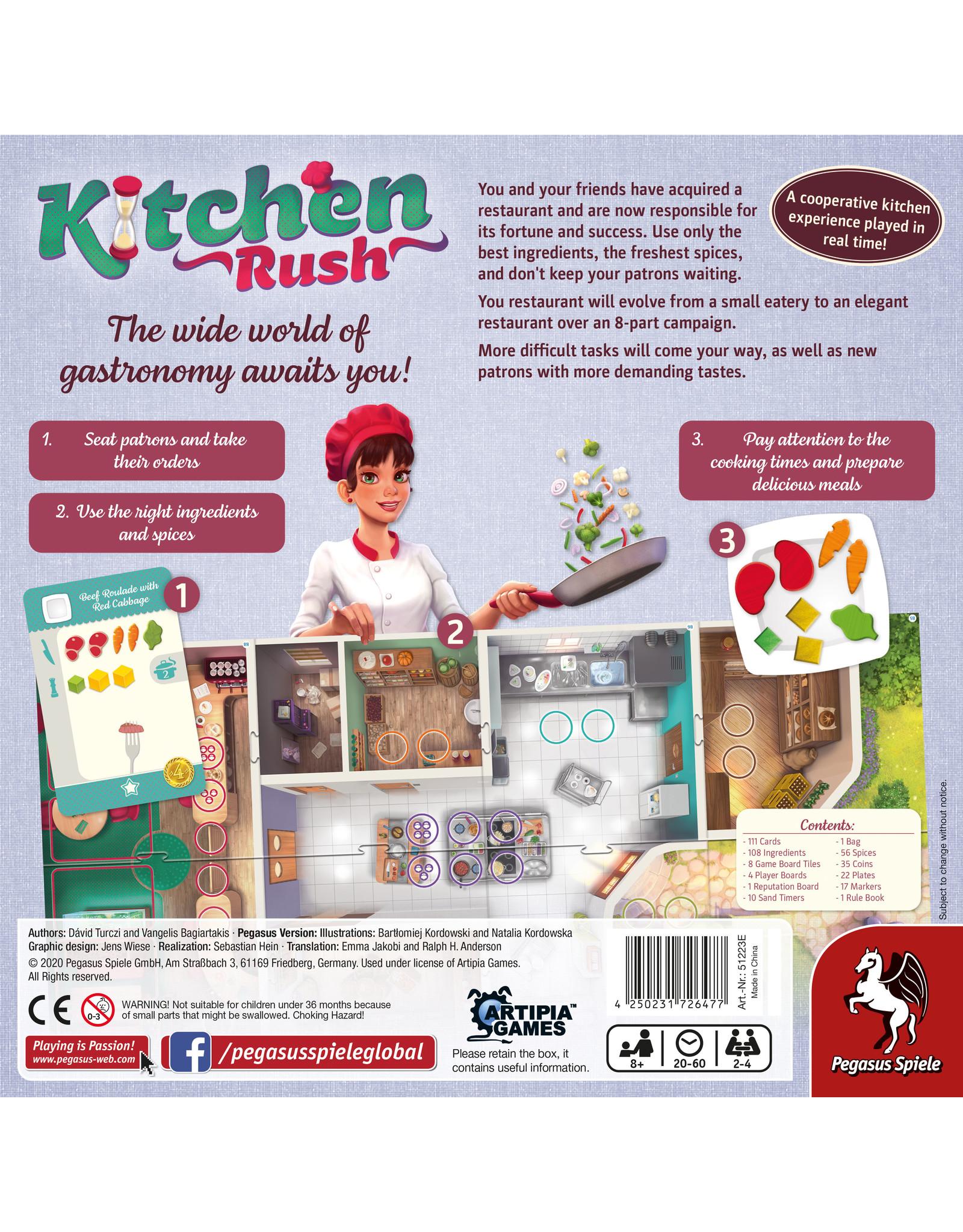 Pegasus Spiele Kitchen Rush (Revised Edition)