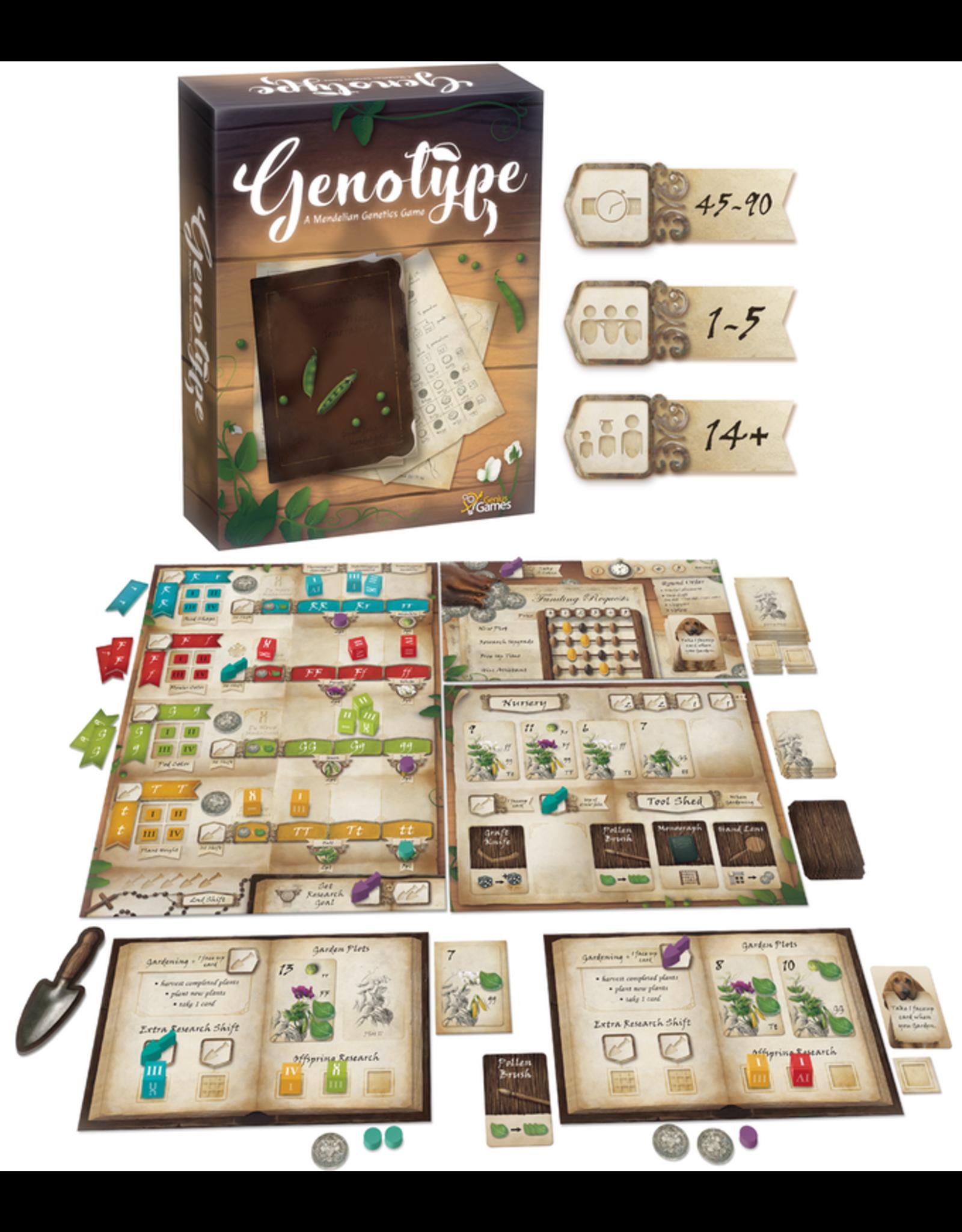 Genius Games Genotype: A Mendelian Genetics Game