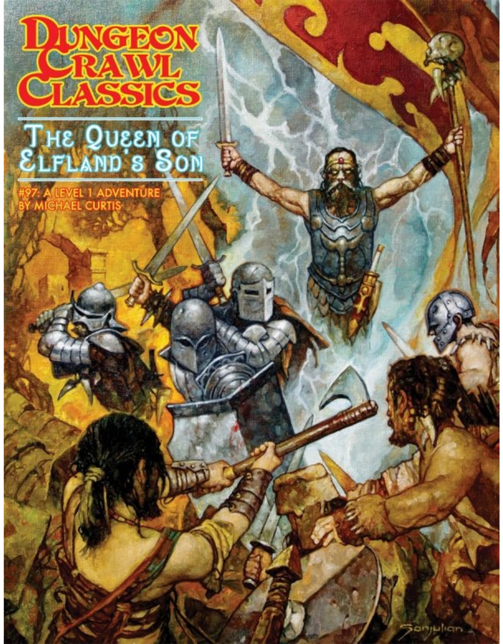 Goodman Games DCC: The Queen of Elfland's Son (#97)