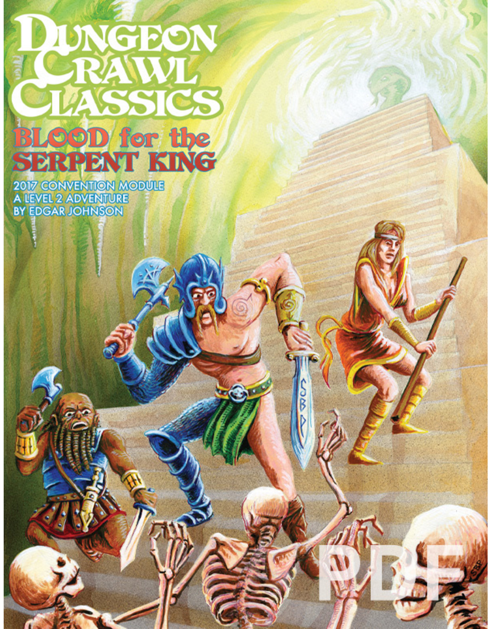 Goodman Games DCC: Blood of the Serpent King 2017 Convention Module