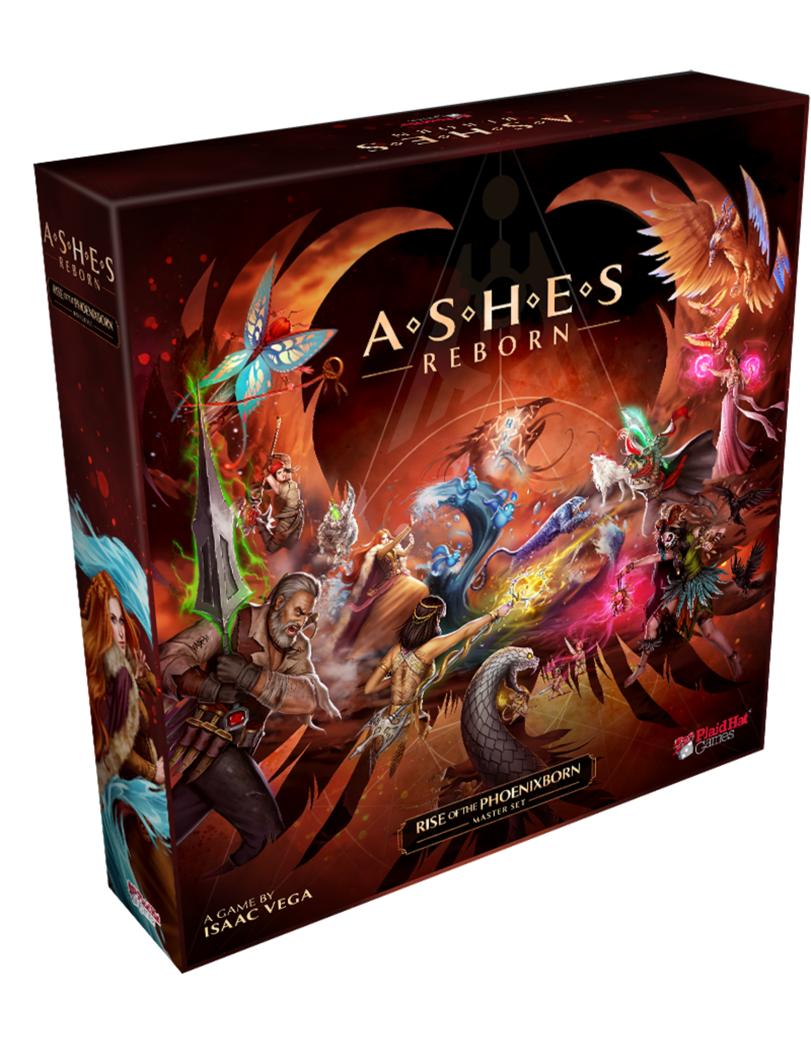 Plaid Hat Games Ashes Reborn: Rise of the Phoenixborn Master Set