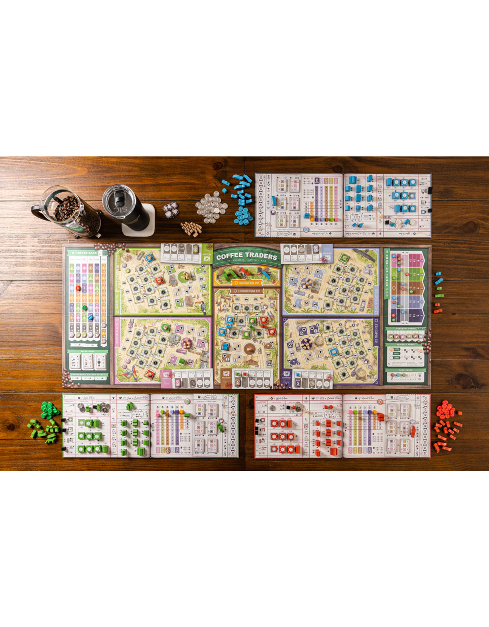 Capstone Games Coffee Traders