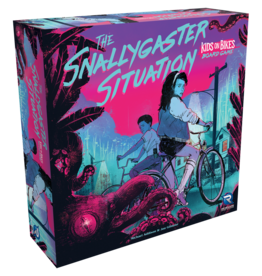 Renegade Game Studios The Snallygaster Situation: A Kids on Bikes Board Game