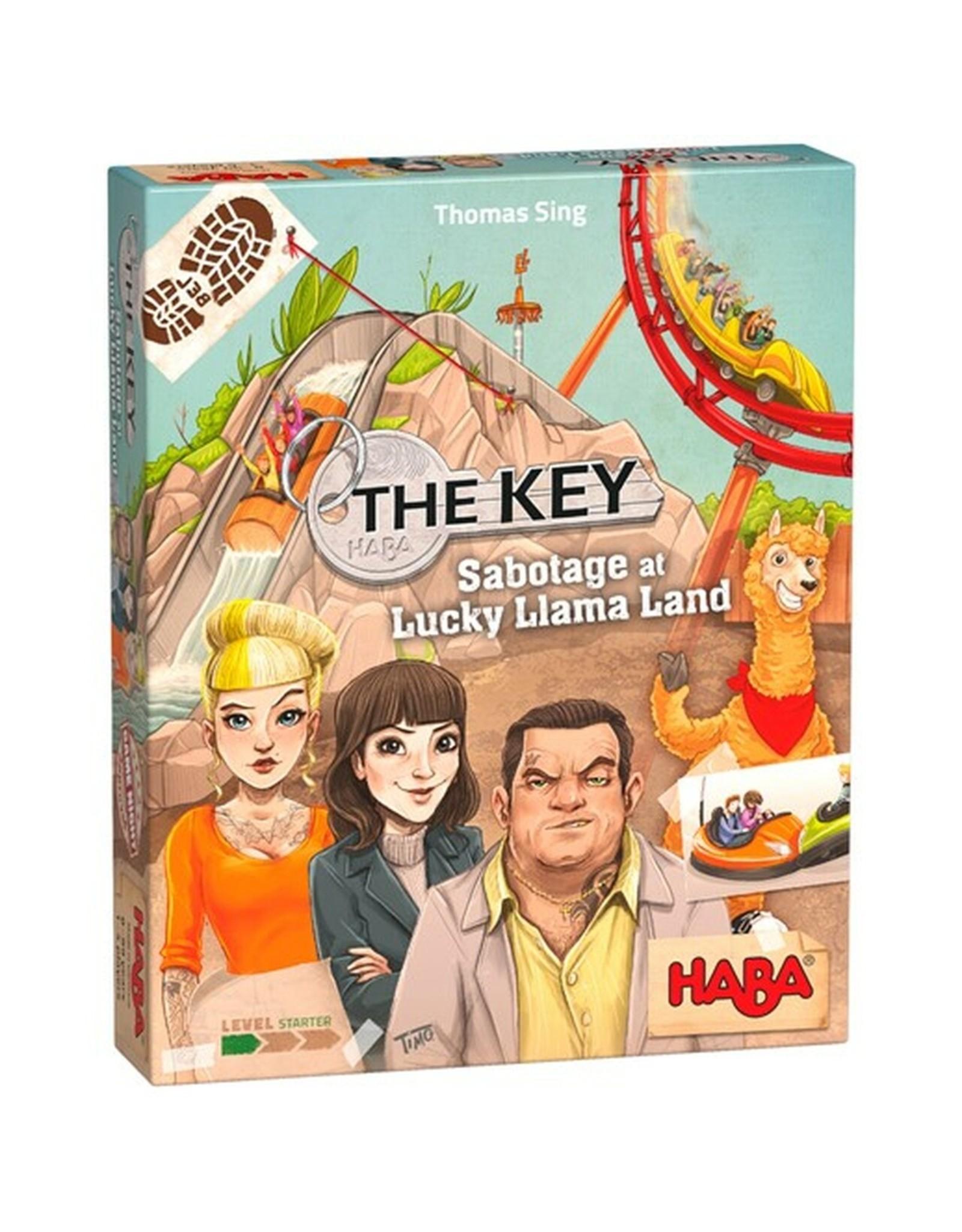 Haba USA The Key: Sabotage at Lucky Llama Land
