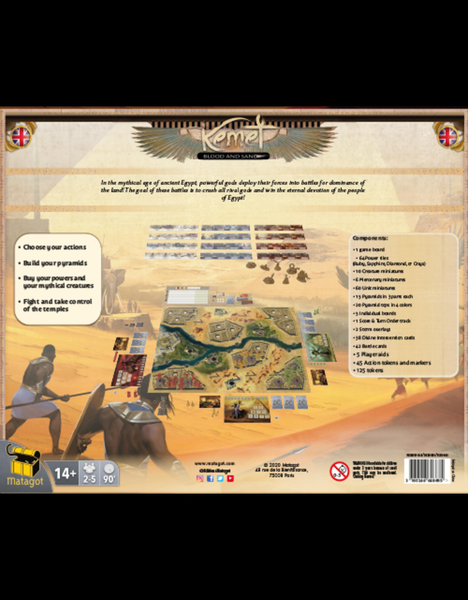 Matagot Kemet: Blood and Sand