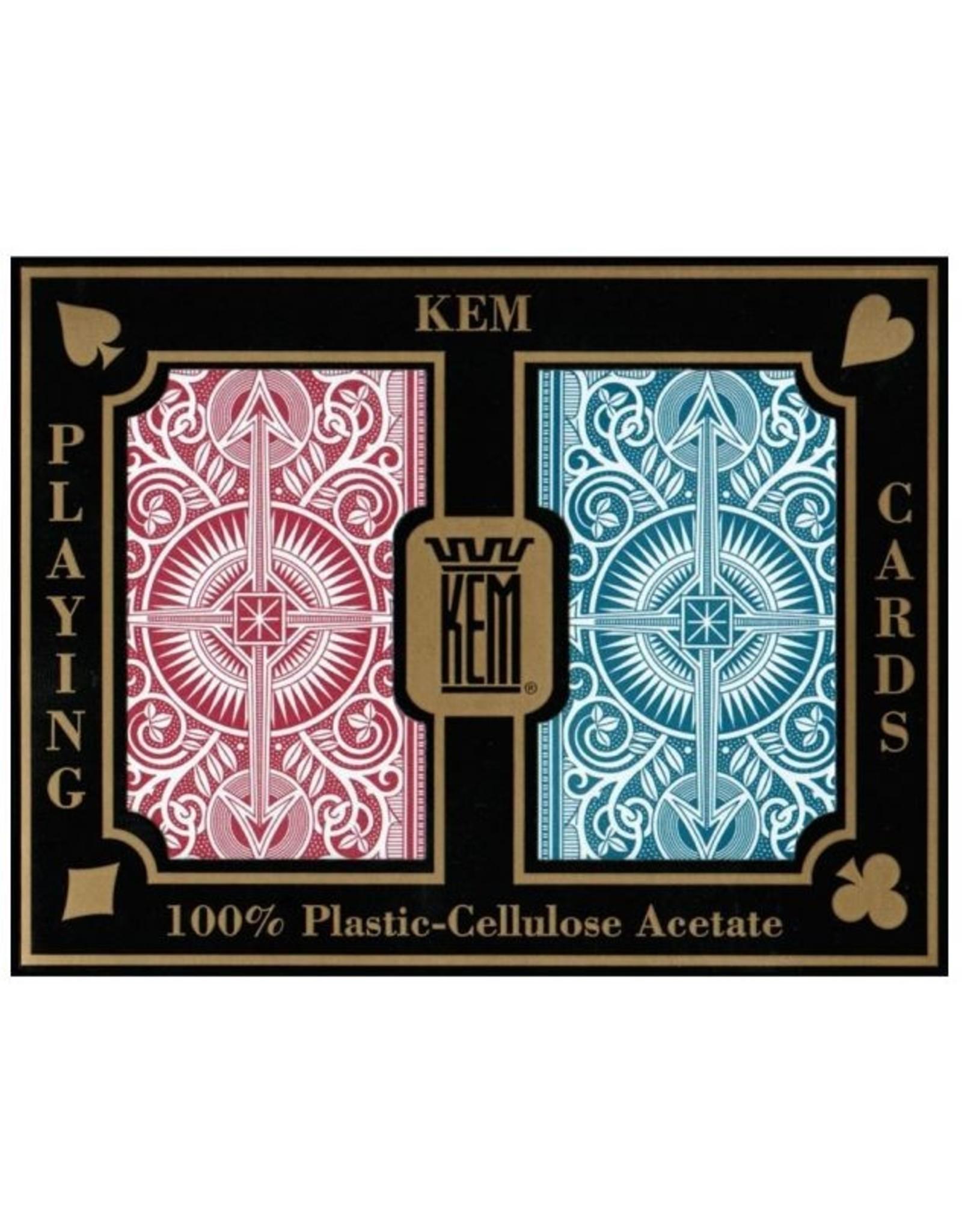 Kem KEM Arrow Plastic Playing Cards