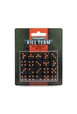 Games Workshop Kill Team 2E:  Ork Commandos Dice Set