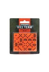 Games Workshop Kill Team 2E:  Adeptus Astartes Dice Set