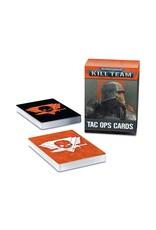 Games Workshop Kill Team 2E:  Tac Ops Cards