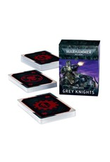 Games Workshop Grey Knights: 9th Ed Datacards