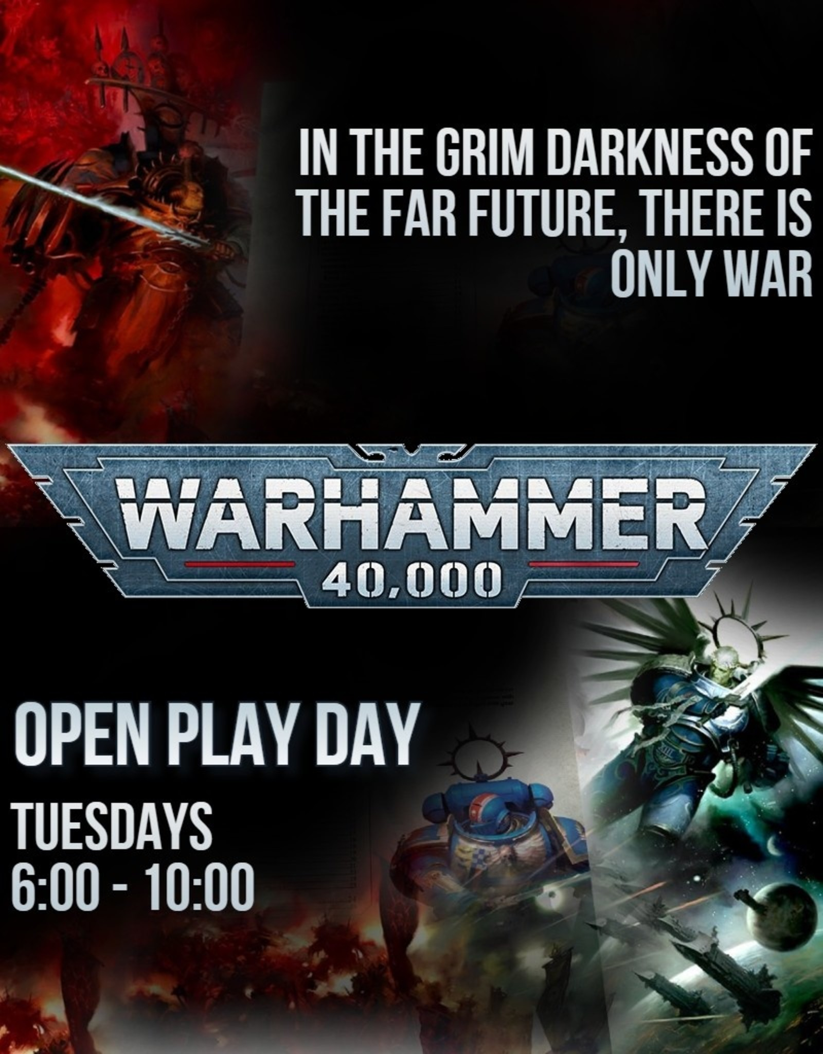Games Workshop In-Store Gaming: Warhammer 40K Open Play