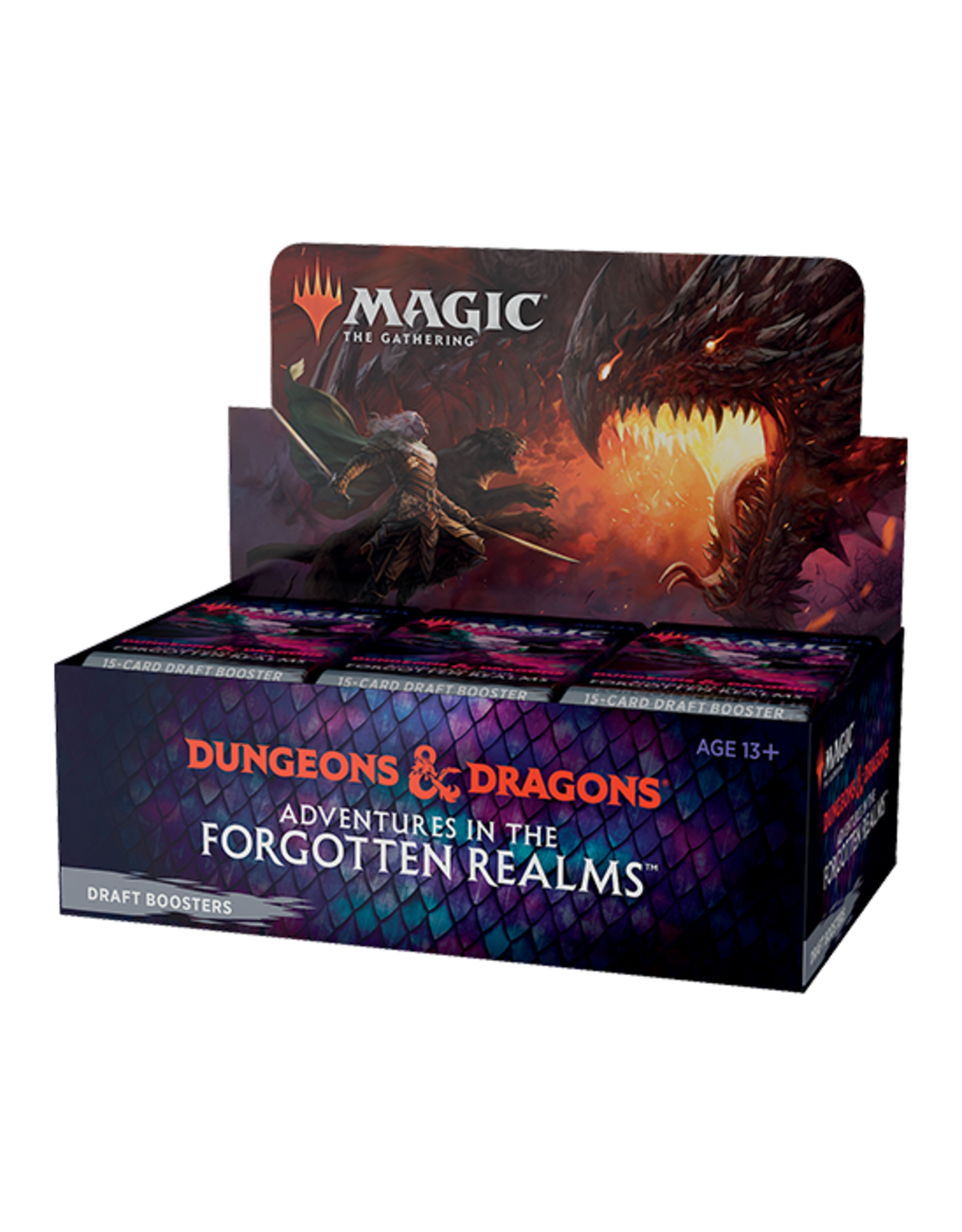 Wizards of the Coast MtG Adventures in the Forgotten Realms DRAFT Booster Box