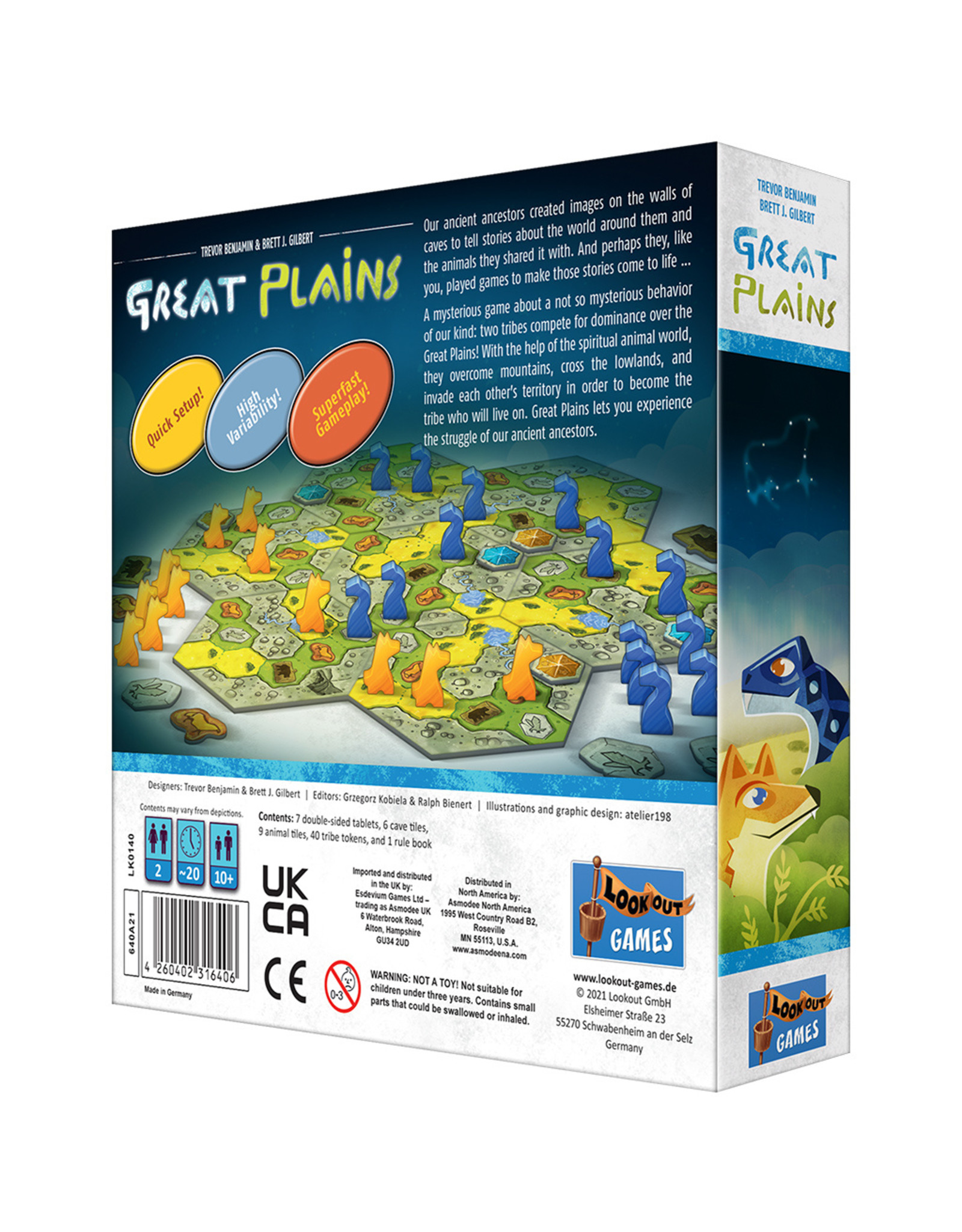 Lookout Games Great Plains