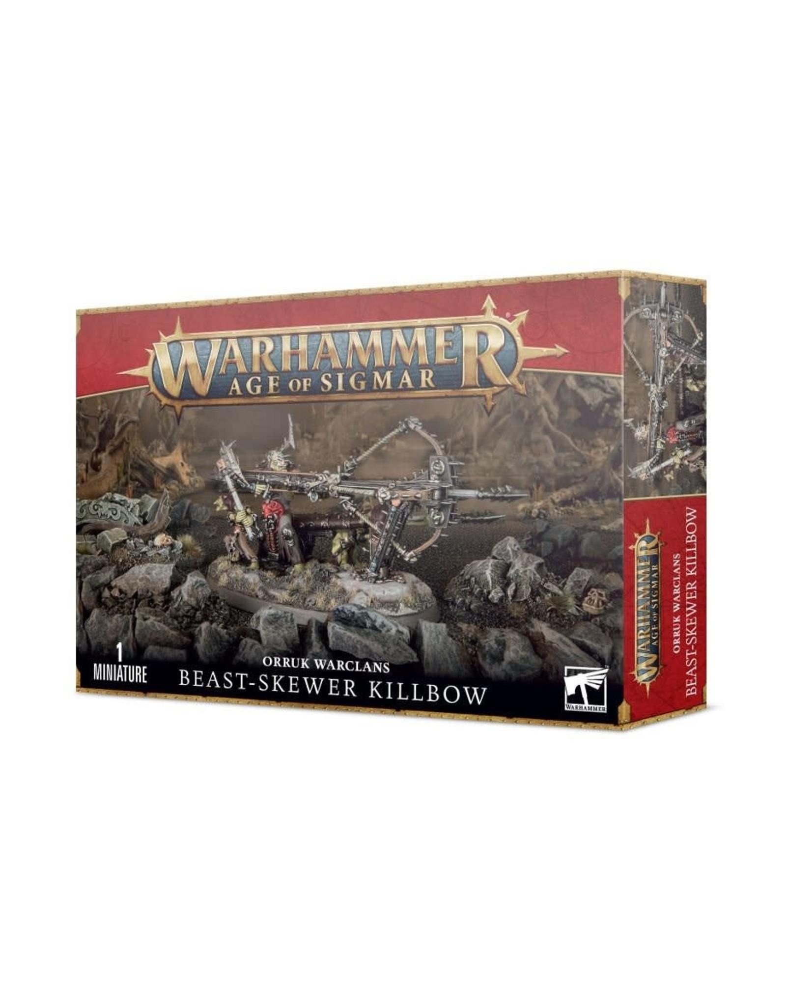 Games Workshop Ironjawz: Orruk Warclaws Beast-Skewer Killbow