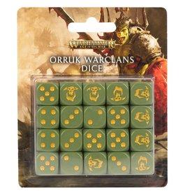 Games Workshop Age of Sigmar: Orruk Warclans Dice