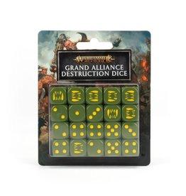Games Workshop Age of Sigmar: Grand Alliance Destruction Dice Set